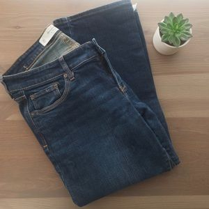 ::Abercrombie & Fitch:: Dark wash Boot Jeans